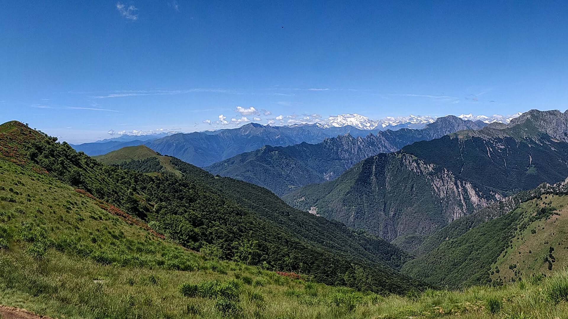 Parco Nazionale Val Grande, itinerarium
