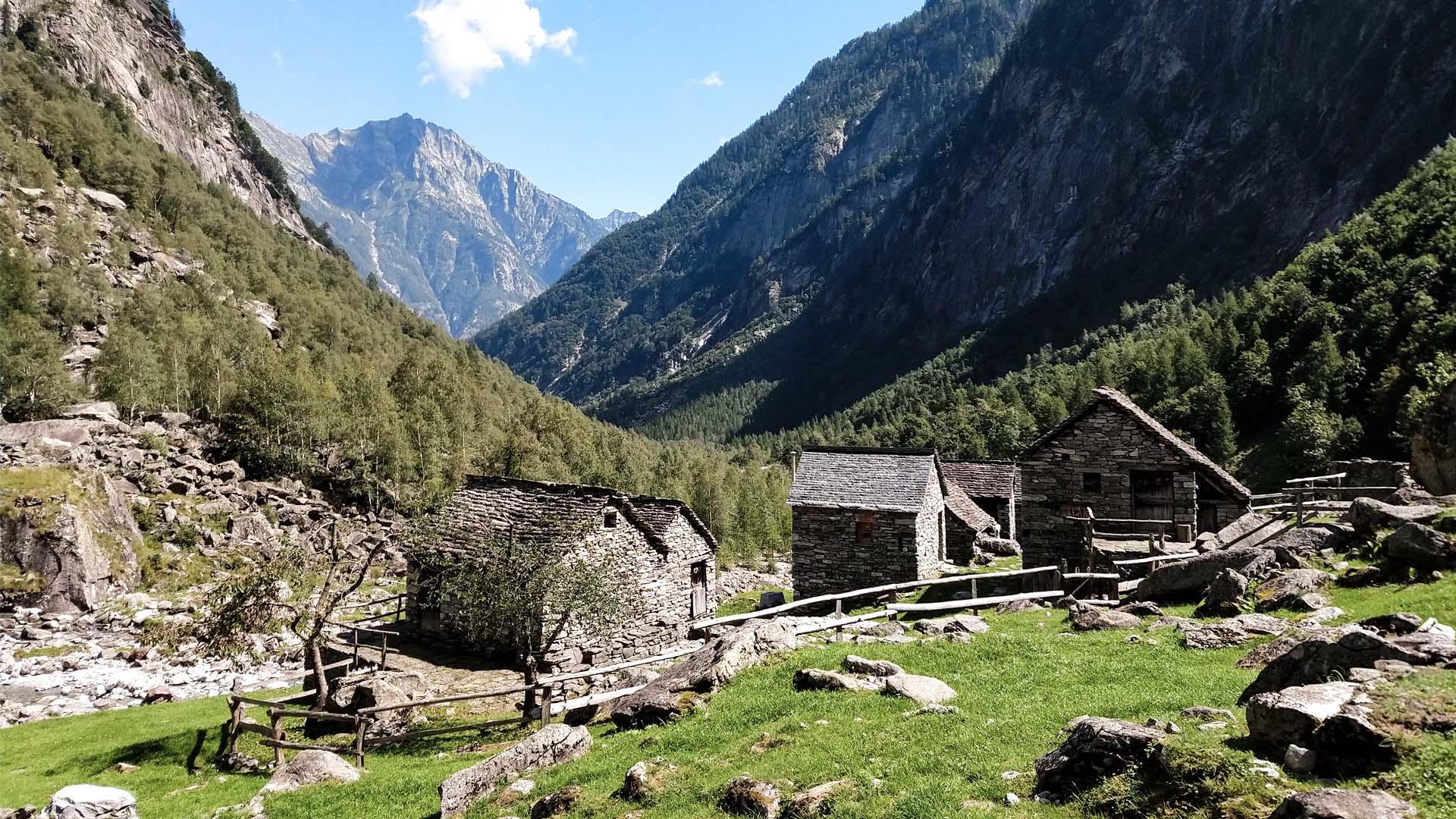 Svizzera - Val Bavona