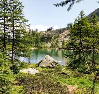 Lago di Monscera - Gattascosa - Lago di Ragozza