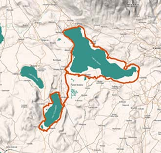 Lago di Varese e Lago di Comabbio
