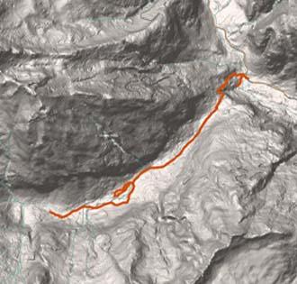Dalla cascata di Foroglio a Calnegia