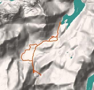 Devero lake / Codelago (lac d'co d'lag) - itinerarium