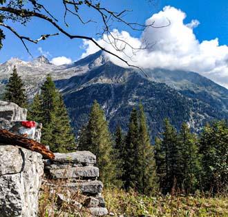 From Fate lake to Secco lake - Siewii - itinerarium