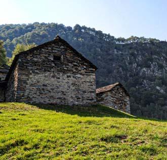 Corte Buè dall'Alpe Ompio - itinerarium