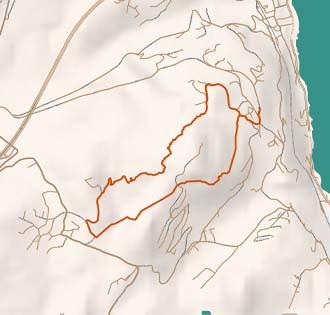 The glacial erratic of Dagnente - itinerarium