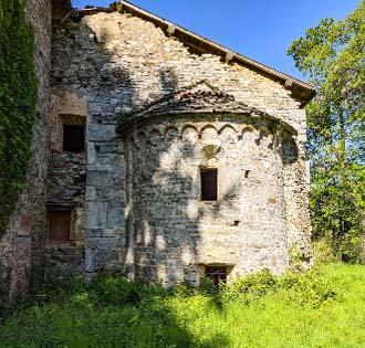 Towards Castellazzo in Invorio - itinerarium