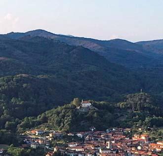 The ancient town of Invorio Superiore - itinerarium