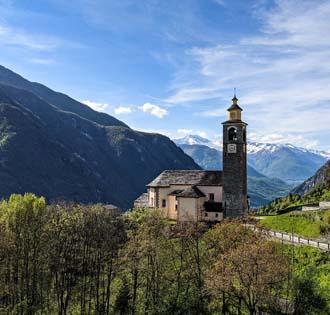 From Mozzio to Foppiano - itinerarium