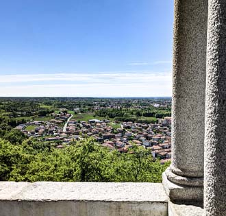 From Invorio to San Colombano in Briga Novarese - itinerarium