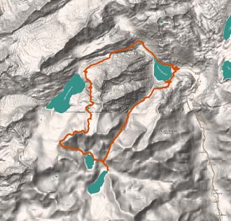 G37 Bianche Guglie del Lebendun - itinerarium