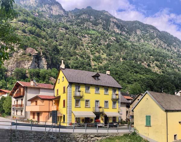 Valle Antigorio - itinerarium